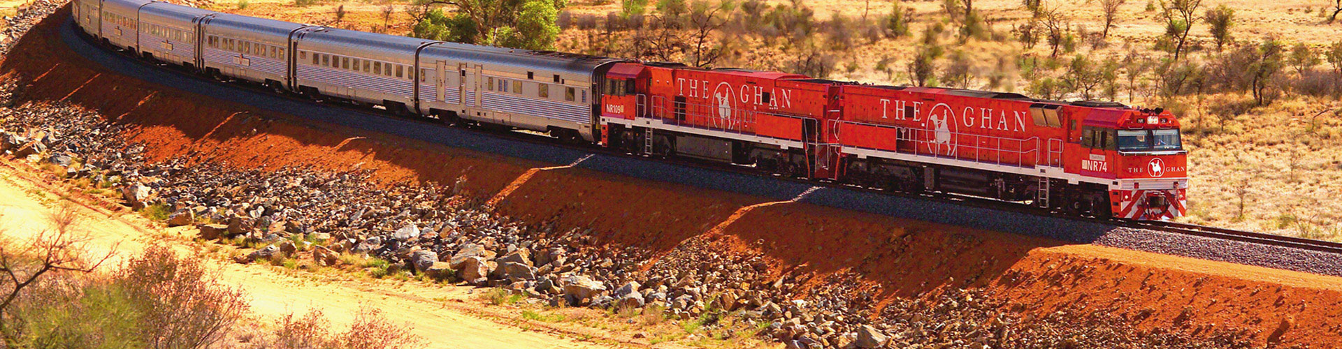 Top End Complete with The Ghan