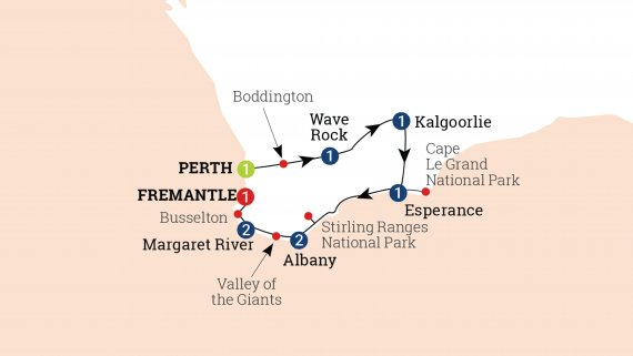 South Western Escape - Perth to Fremantle