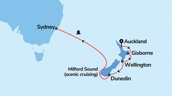 Explorer Dream Cruise Auckland to Sydney