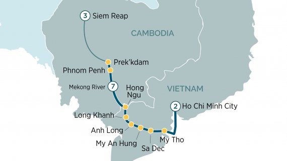 Majestic Mekong River Cruise