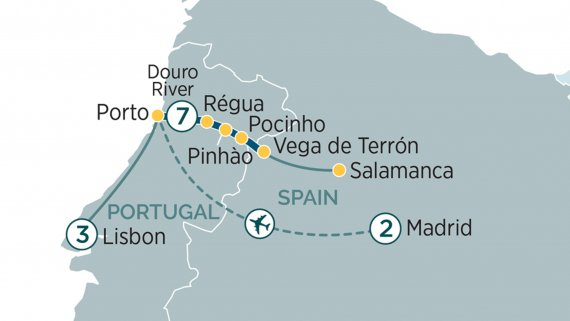 Secrets of the Douro - Madrid to Lisbon with Emerald Radiance
