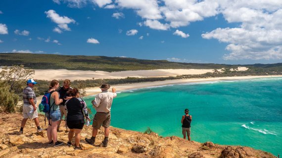 Exclusive Paradise Getaway to Fraser Island by Private Charter