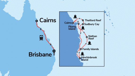 Queensland, The Tropics & the Southern Great Barrier Reef