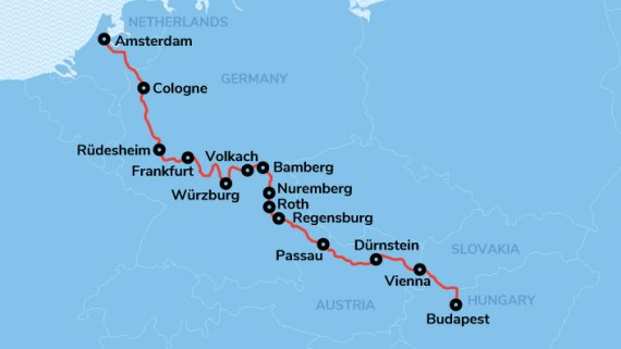 Magnificent Rivers of Europe Cruise with Avalon Waterways