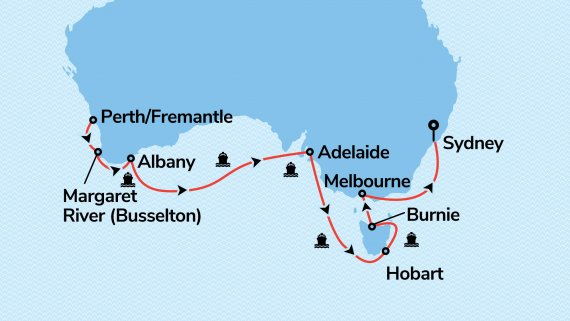 Best of Southern Australia with Sea Princess