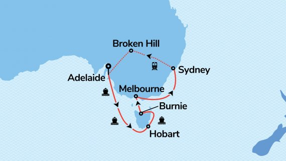 Southern Australia & Sydney with Sea Princess & Indian Pacific (Hosted Departure)*