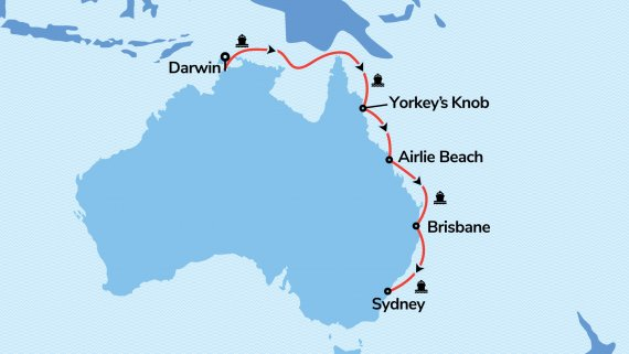 Top End & East Coast with Voyager of the Seas
