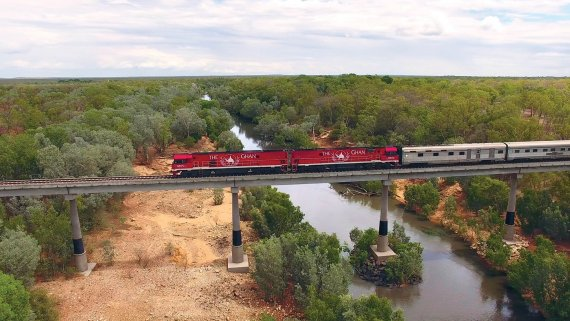Top End & East Coast with Ghan & Voyager of the Seas