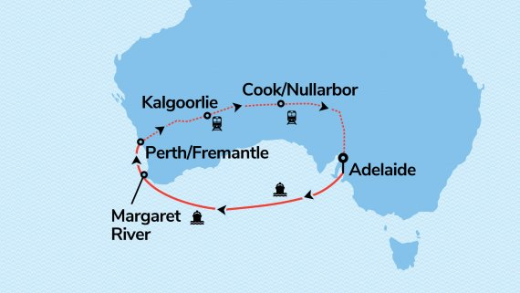 West Australian Adventure with Sun Princess & Indian Pacific