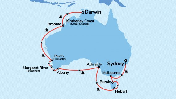 Sydney to Darwin with Sea Princess - Darwin Escape