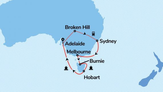 Sydney Escape with Sea Princess & Indian Pacific