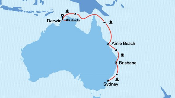 East Coast and Top End Explorer with Voyager of the Seas