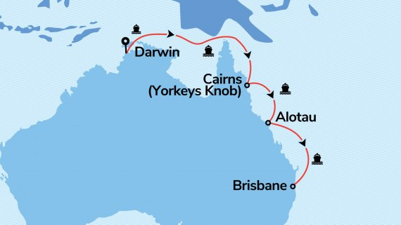 Top End and East Coast Explorer with Radiance of the Seas