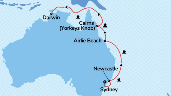 East Coast & Top End Explorer with Serenade of the Seas