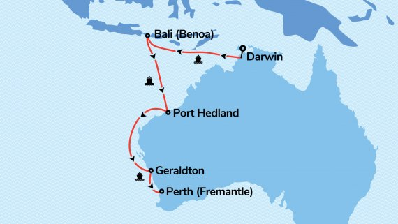 West Coast & Top End Adventure with Serenade of the Seas