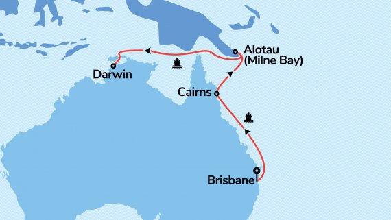 East Coast and Top End Explorer with Sun Princess