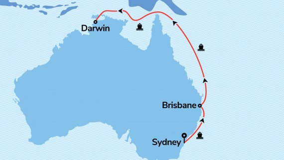 East Coast & Top End Explorer with Ovation of the Seas