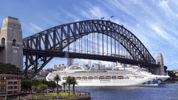 Hong Kong to Sydney with Sun Princess