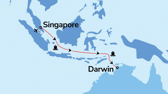 Singapore to Darwin with Voyager of the Seas