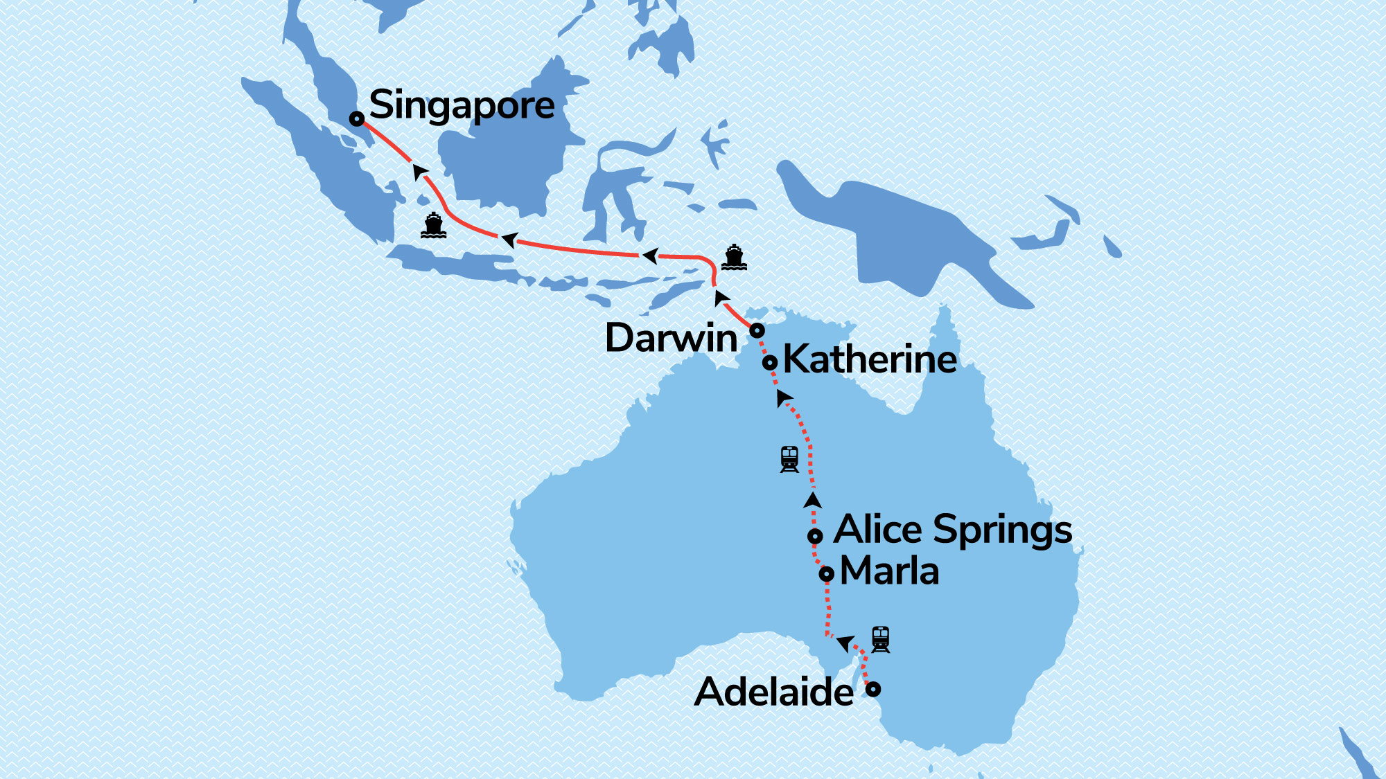 Darwin Escape with Voyager of the Seas & The Ghan | Holidays ...