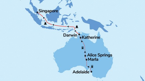 Darwin Escape with Voyager of the Seas & The Ghan
