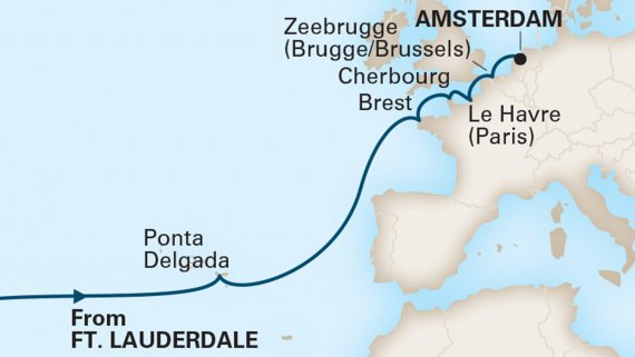 Azores & Normandy Expedition with Nieuw Statendam