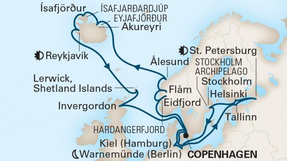 Jewels of the Baltic & Northern Isles with Nieuw Statendam