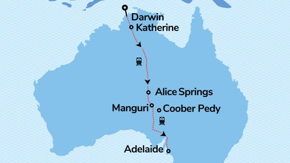 Discover Darwin with The Ghan Expedition