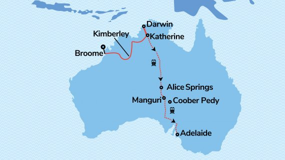 Wonders of The Kimberley with The Ghan Expedition