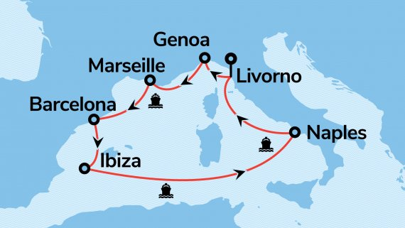 Mediteranean Cruise with MSC Divina