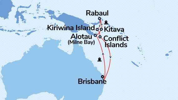 11-Day Papua New Guinea with Coral Princess