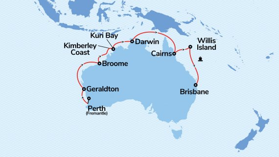 15-Day Northern Explorer with Coral Princess