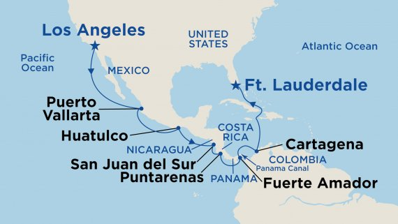 Panama Canal - Ocean to Ocean with Emerald Princess