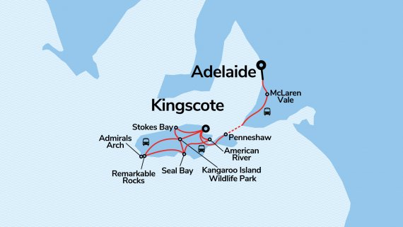 Kangaroo Island Discovery - Fully Escorted Small Group Tour - Sep 2021