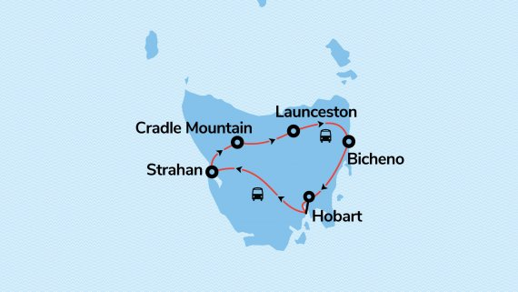 The Ultimate Tasmania Tour - 14 September 2021